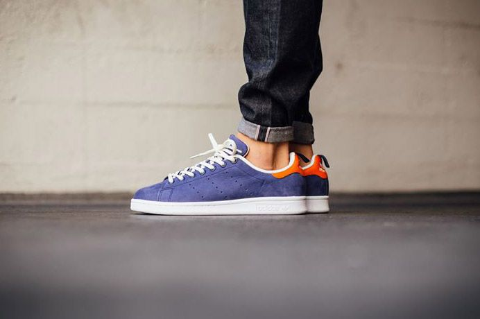 Adidas Stan Smith Weave White Navy