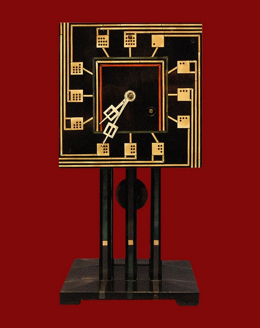 charles rennie mackintosh 1868 1928 domino clock circa 1917 the glasgow four pinterest. Black Bedroom Furniture Sets. Home Design Ideas