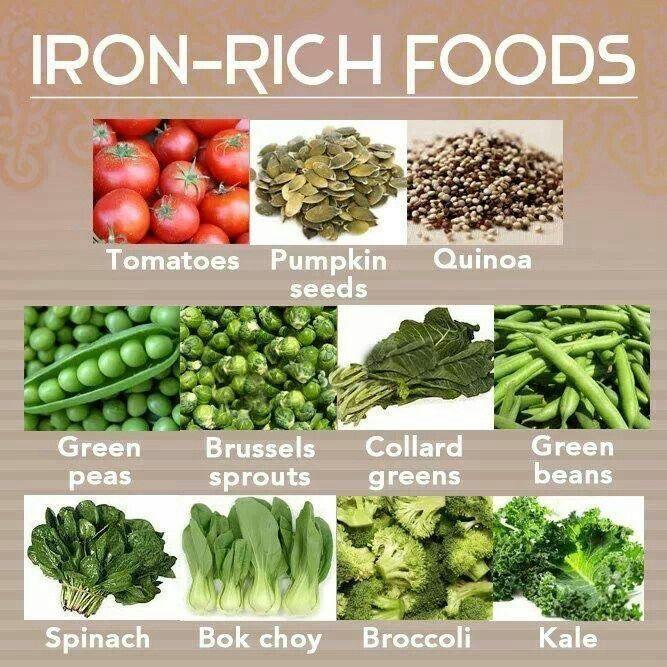 list of iron rich foods pdf