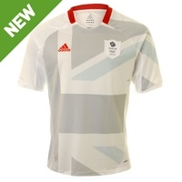 adidas Team GB Olympic 2012 Mens Football Away Shirt  £44.99    JJB Sports    adidas Team GB Olympic 2012 Mens Football Away ShirtExclusive to the London 2012 Olympic Games;
