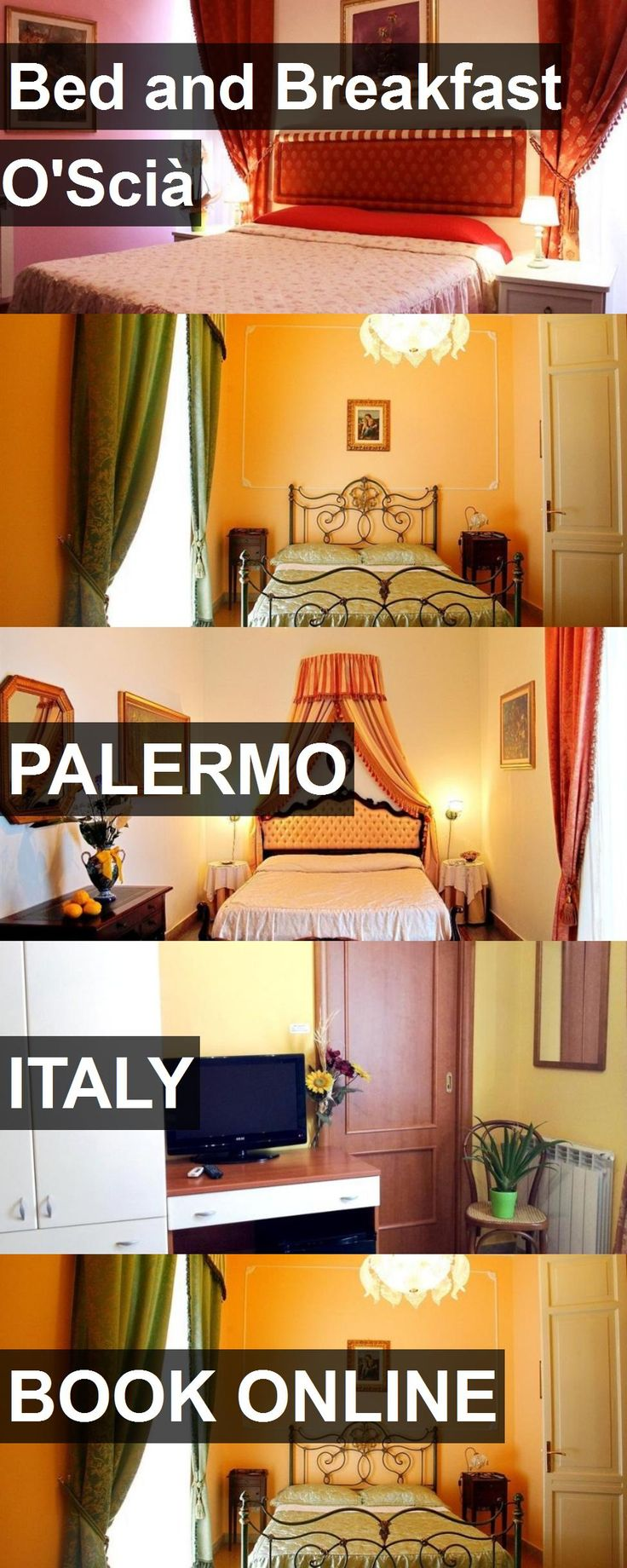 Hotel Bed and Breakfast O'Scià in Palermo, Italy. For more information, photos, reviews and best prices please follow the link. #Italy #Palermo #BedandBreakfastO'Scià #hotel #travel #vacation