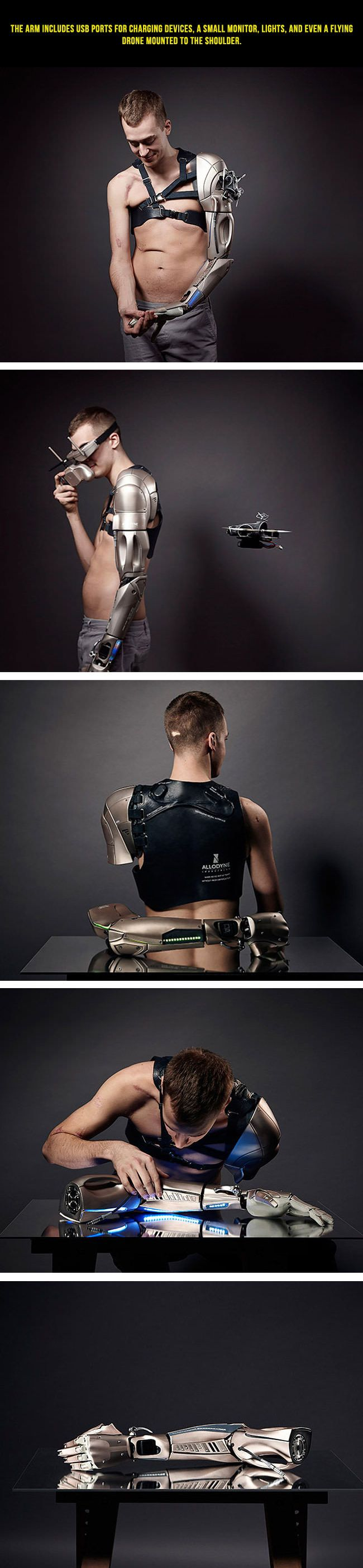 Amputee Gamer Gets Metal Gear Solid Inspired Prosthetic Arm