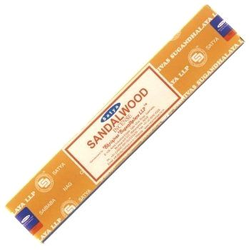 Sandalwood Incense Sticks by Satya 15gm ISSSSA15