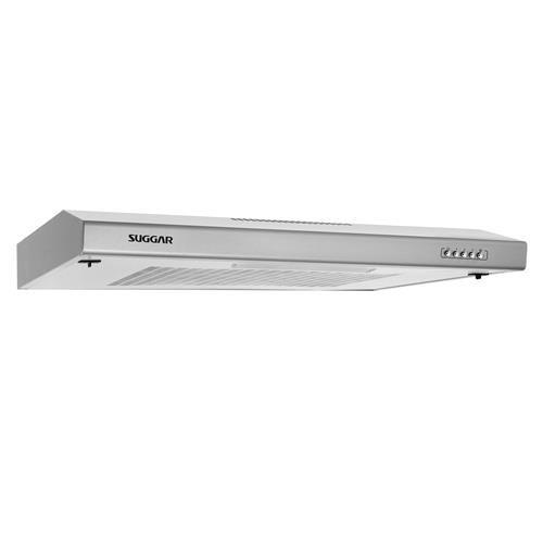 Depurador de Ar Suggar DM62IX Slim II Inox com 3 Velocidades - 60 cm