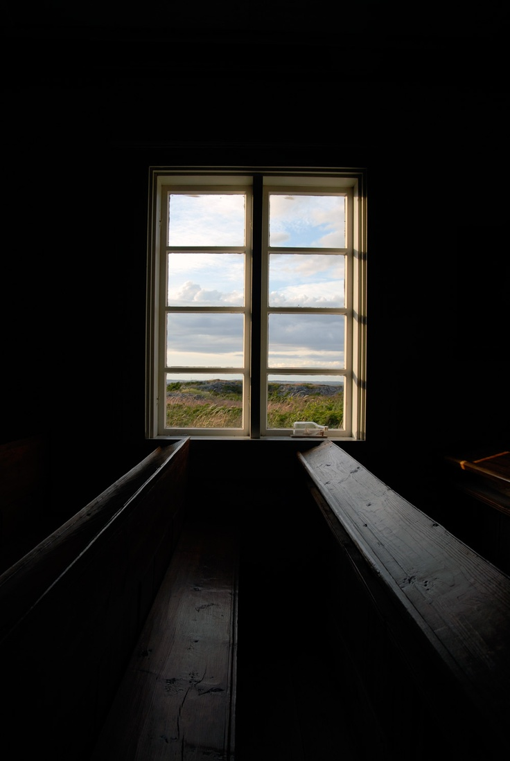 View from the Jurmo chapel.