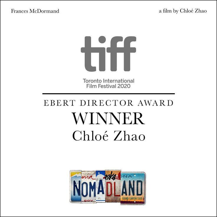 271 Curtidas 5 Comentarios Nomadland Movie Nomadlandfilm No Instagram Congratulations To Chloe Zhao For Winning The Tiff Net Ebert Director Awa Em 2020 Curtidas