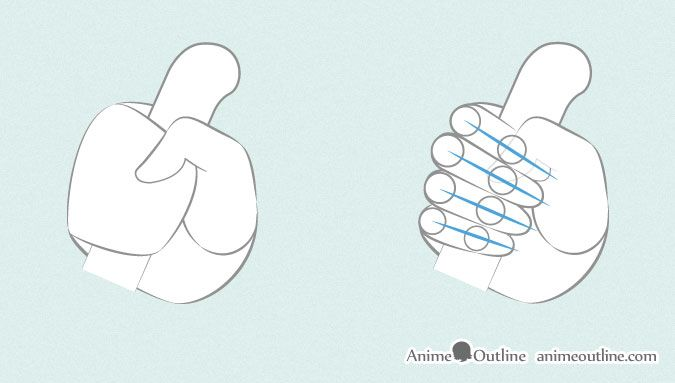 6 Ways To Draw Anime Hands Holding Something Anime Hands