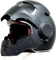 Custom Motorcycle Helmet Conversions - How to make an Iron Man Motorcycle Helmet