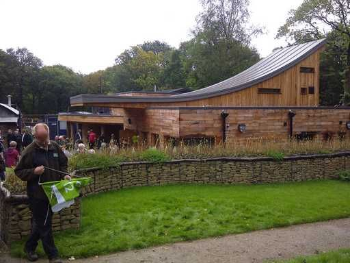 The beautiful JG Graves Woodland Discovery Centre, Ecclesall Woods
