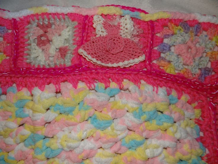 SAMPLE: This baby blanket is on it's way to Omaha, Nebraska for a newborn little girl. :)  Price: $45 plus shipping.
