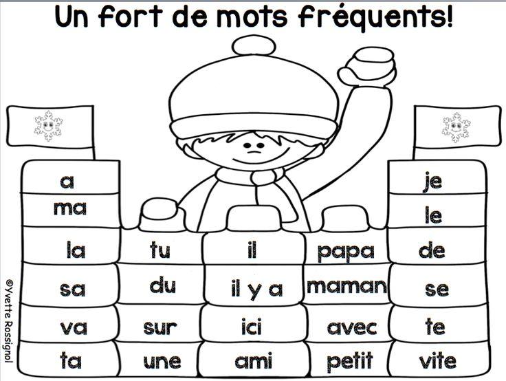 Il faut TOUJOURS travailler les mots fréquents...et de façons variées:)