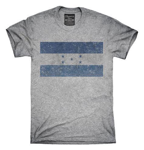 Retro Vintage Honduras Flag T-Shirts, Hoodies, Tank Tops