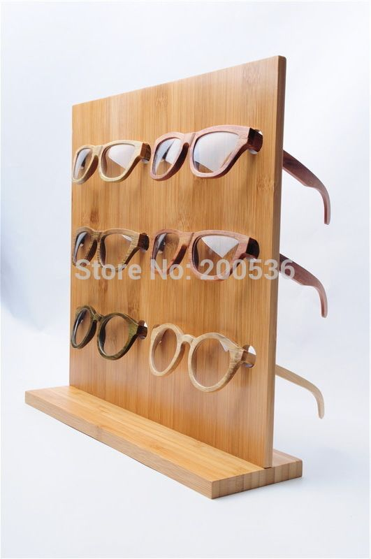 bamboo glasses display rack, Sunglasses Glasses Display Stand 6 pairs of glasses frame stand display shelf free shipping-in Jewelry Packaging & Display from Jewelry on Aliexpress.com | Alibaba Group