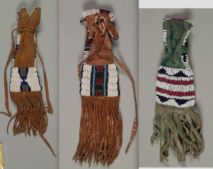 S cheyenne paint bags 1880s nmnh ac part vii great for Cheyenne tribe arts and crafts