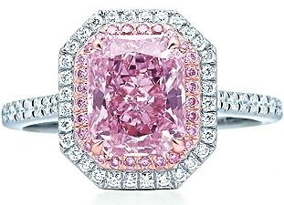 Fancy Purplish Pink Diamond---Tiffany & Co