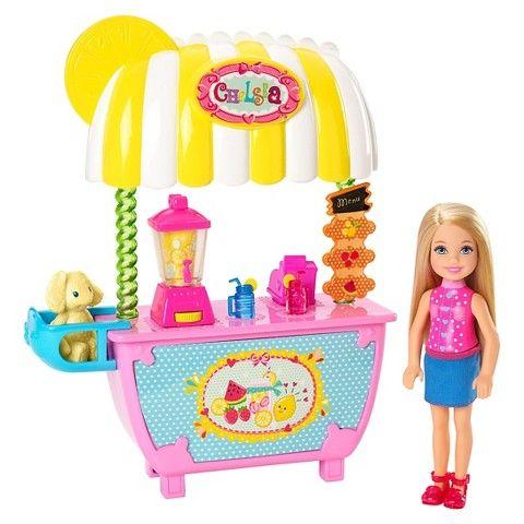 Barbie Lemonade Stand Chelsea Doll Giftset