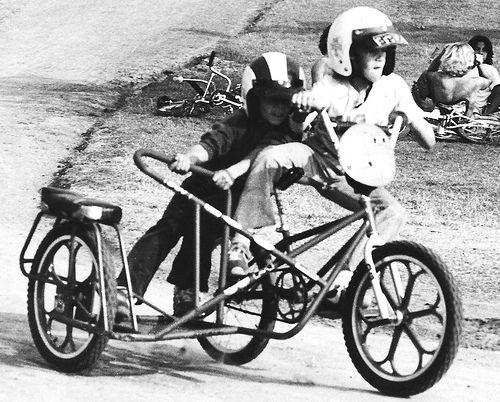 BMX Sidehack- Old School!