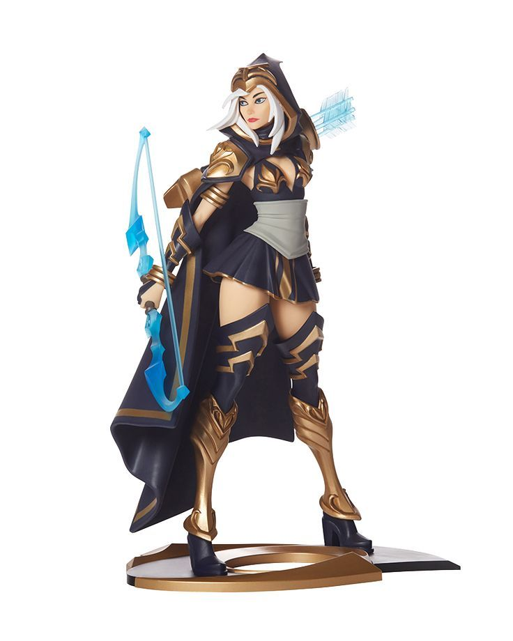 Riot Games Merch | Ashe Unlocked - Statues - Collectibles.  Ashe is one of my favorite champions from League of Legends and this action figure shows her off so well! See more fantastic figures just like this at the Riot Games store!