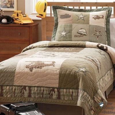 camo helicopter boy children kid camouflage quilt bedding set twin full queen