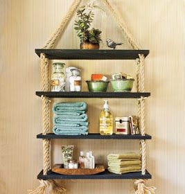 DIY Nautical Shelves from Southern Living via My Home Ideas