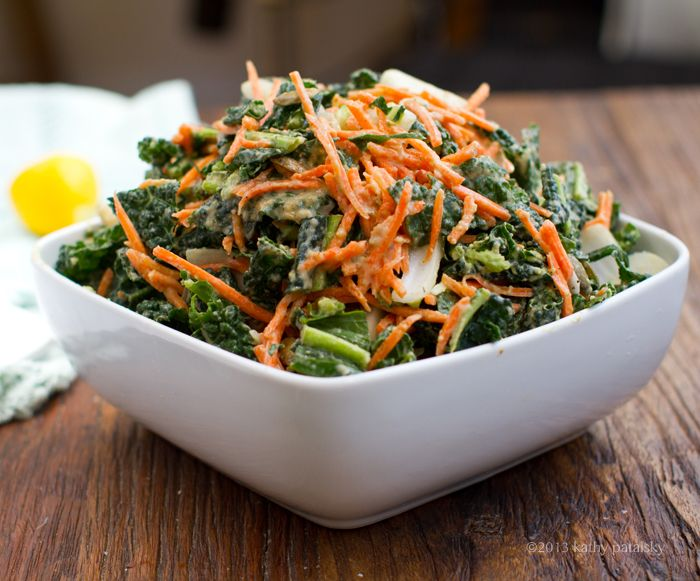 5-Step Raw Kale Salad!