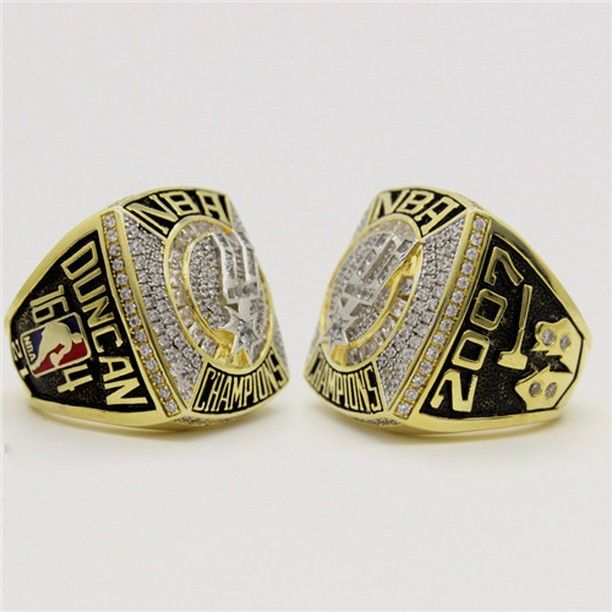 San Antonio Spurs 2007 NBA Basketball Championship Ring for Sale Click Bio to Buy #spurs #spursnation #sanantoniospurs #spursfan #spurswin #spursday #spursfamily #spursgame #spursfans #spursallday #spursbasketball #NBA #basketball #playoffs #nbafinals #nbamemes #nbadraft #nbabasketba #basketballneverstops #basketballgame #basketballislife #basketballseason
