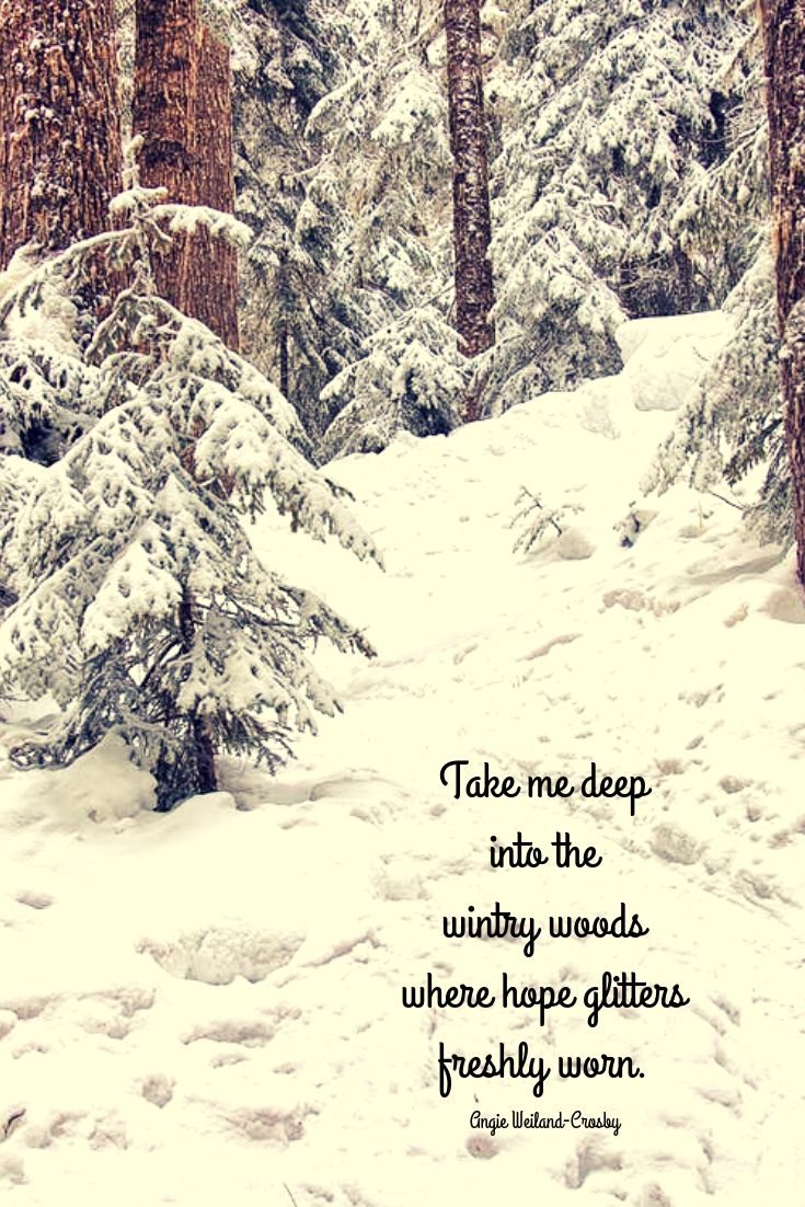 Mom Soul Soothers Quotes Tools And Inspiration For Your Soul Winter Quotes Nature Quotes Snow Quotes