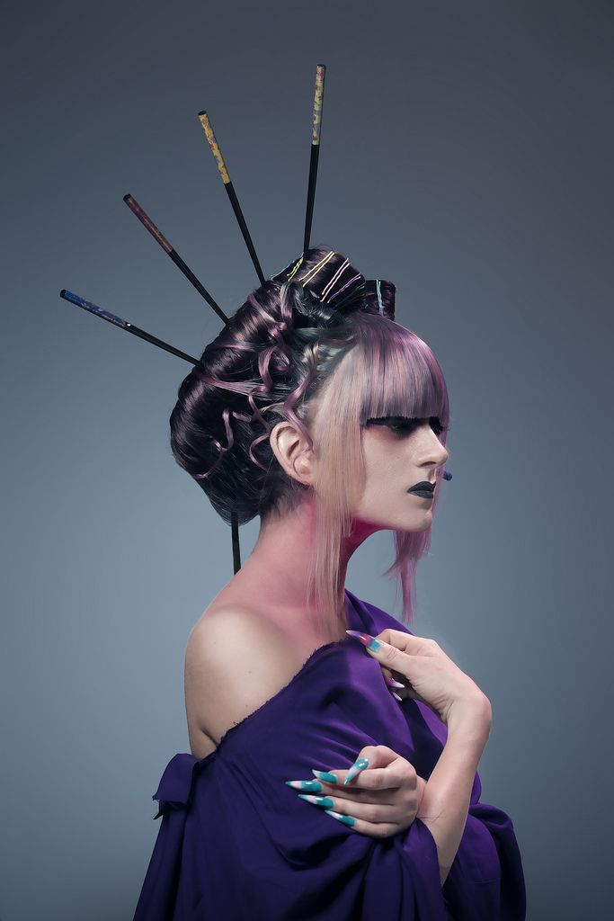 High fashion makeup and hair images for What is high fashion