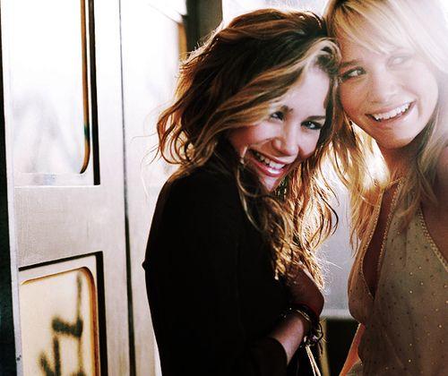 Mary Kate and Ashley Olsen,