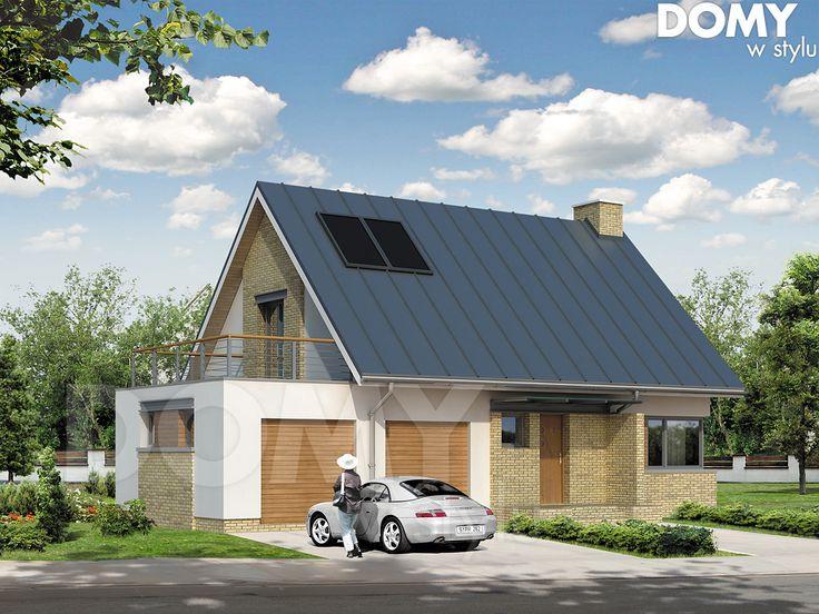 Wizualizacja projektu domu Kawka 4