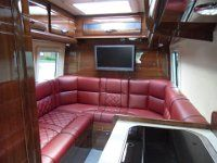 Rear U Shape Lounge Mclaren Shadow 4 x 4 Motorhome