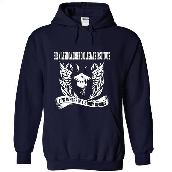 Sir Wilfrid Laurier Collegiate Institute - Its where my - #grey shirt #matching shirt. SIMILAR ITEMS => https://www.sunfrog.com/No-Category/Sir-Wilfrid-Laurier-Collegiate-Institute--Its-where-my-story-begins-5853-NavyBlue-Hoodie.html?68278