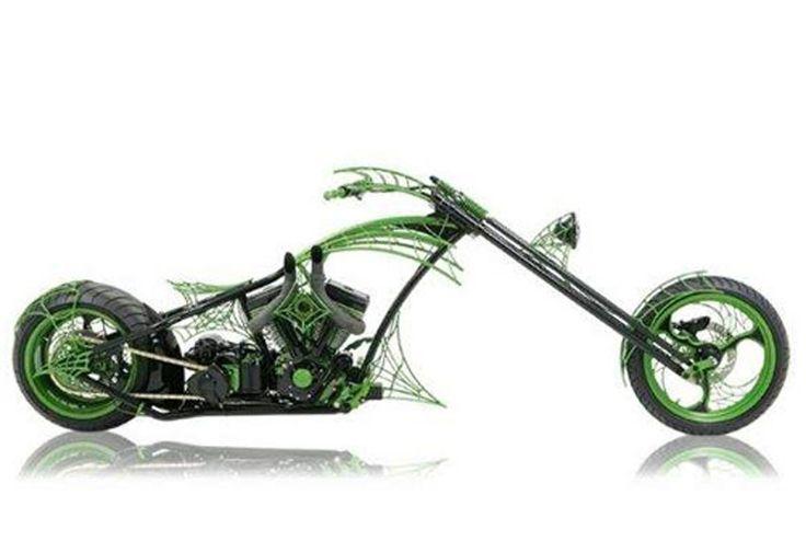 """Orange County Choppers' """"Dream Bike"""""""