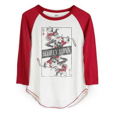 Camiseta Harley Quinn Manga Longa