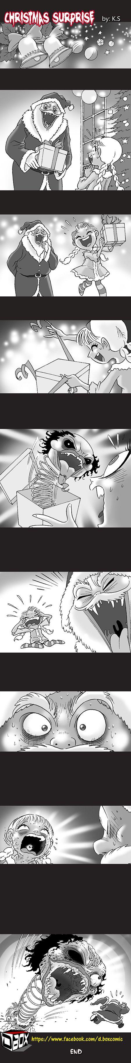 Silent Horror :: Christmas Surprise | Tapastic Comics - image 1