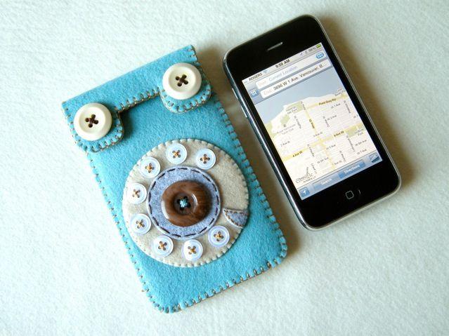 Dial Phone iPhone case