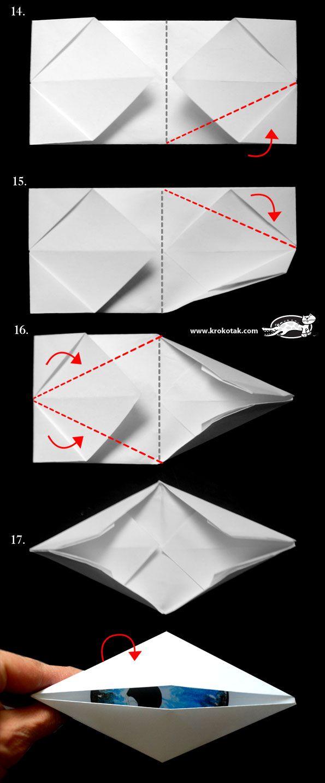 Приличам ли на циклоп?… или мигащо око оригами | krokotak