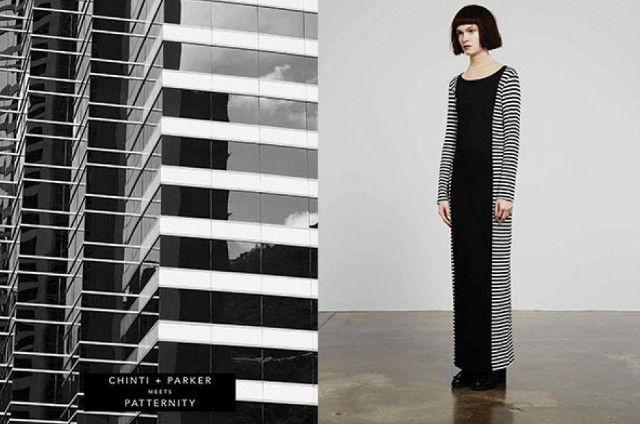 La marque de vêtements londonienne Chinti and Parker s'associe avec le studio de création de motif Patternity pour une collaboration réussie : une série de 28 pulls aux inspirations architecturales, sorties des motifs qui se dégagent des façades d'immeubles. Un partenariat et une collection étonnante.