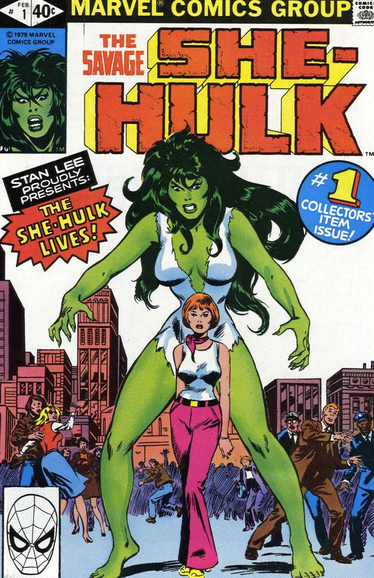 The Savage She-Hulk 1. Original Marvel cover.