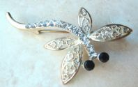 Vintage Style Dragonfly Brooch