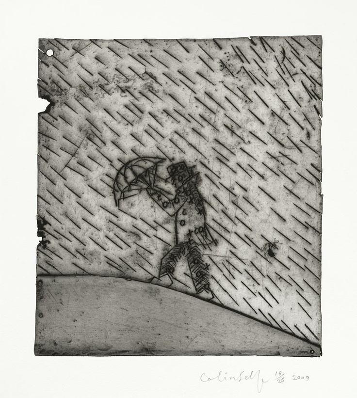 Colin Self - Man in a Rainstorm No 3 £450.00 Colin Self - Man in a Rainstorm No 3. £450.00 http://www.goldmarkart.com/all-art/collections/christmas-2012/man-in-a-rainstorm-no-3.html