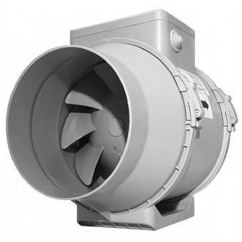 Turbo Tube Six Inch 565m3 Hr Inline Bathroom Fan With Timer Inline Fan Wall Mounted Fan Bathroom Extractor Fan