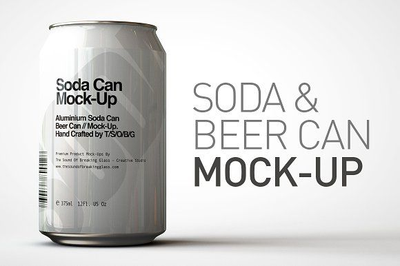 Soda Can Beer Can Mock Up By Tsobg On Creativemarket Beer Can Soda Can Beer