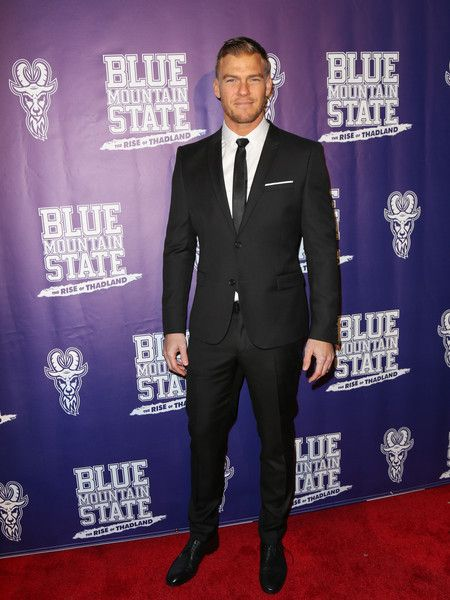 Alan Ritchson Photos - Alan Ritchson is seen arriving for the Premiere Of Lionsgate's 'Blue Mountain State: The Rise Of Thadland' at The Fonda Theatre. - Premiere of Lionsgate's 'Blue Mountain State: The Rise of Thadland'