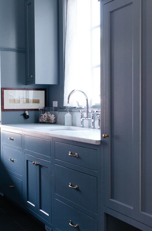 17 best images about dark blue kitchen on pinterest navy for Charcoal painted kitchen cabinets