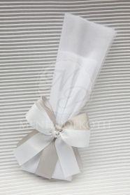 Μένη Ρογκότη - Μπομπονιέρα γάμου με διπλά φιογκάκια
