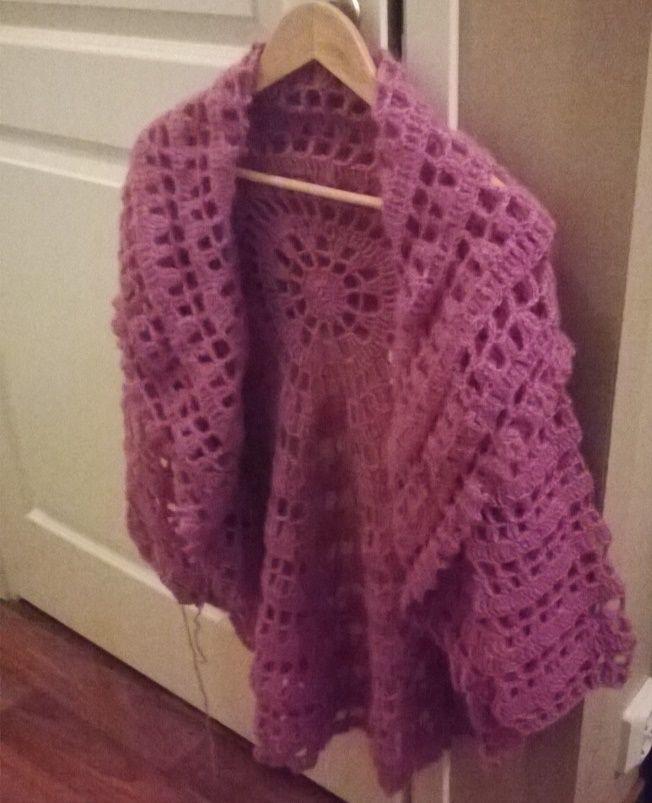 Moonlight Mist (Drops) Crocheted
