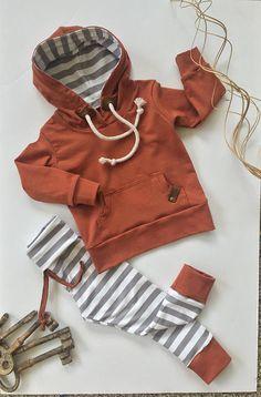 Bebé niño niño con capucha SET  chico/chica  polainas de