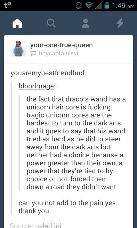 Unicorn hair core