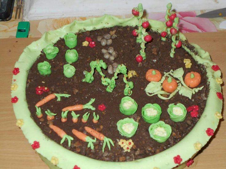 Vegatables cake